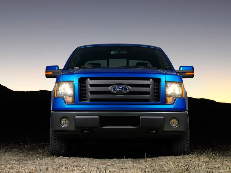 2009 Ford F-150 - Blue Front - 1280x960 - Wallpaper