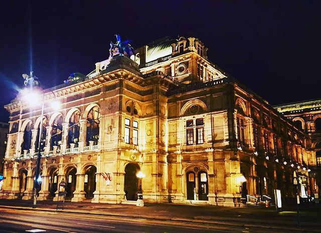 """Vienna State Opera House ❤ - - #austria #vienna #operahouse #19thcentury #architecture #neorenaissance #building #design #philharmonic #opera #ballet #music #travel #travelbug #travelgram #instatravel  #instagood #instadaily #iger #wanderlust #traveltheworld #passport #night #lights #livetotravel"" by @thetravellingbean. #fslc #followshoutoutlikecomment #TagsForLikesFSLC #TagsForLikesApp #follow #shoutout #followme #comment #TagsForLikes #f4f #s4s #l4l #c4c #followback #shoutoutback…"