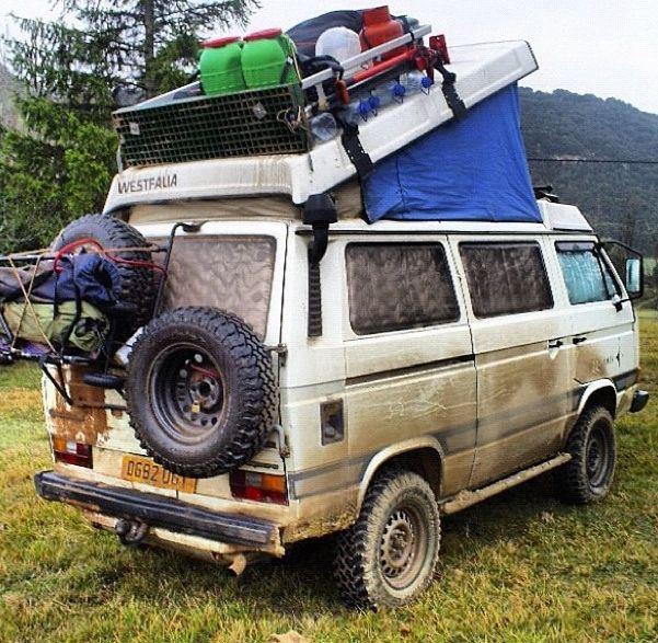 VW westfalia going camping?