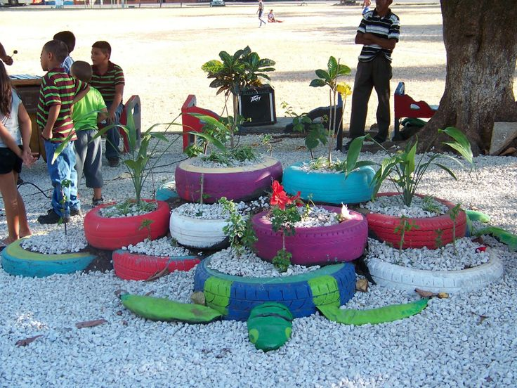 Playground and old tires we hope that these clever ideas for What can old tires be used for