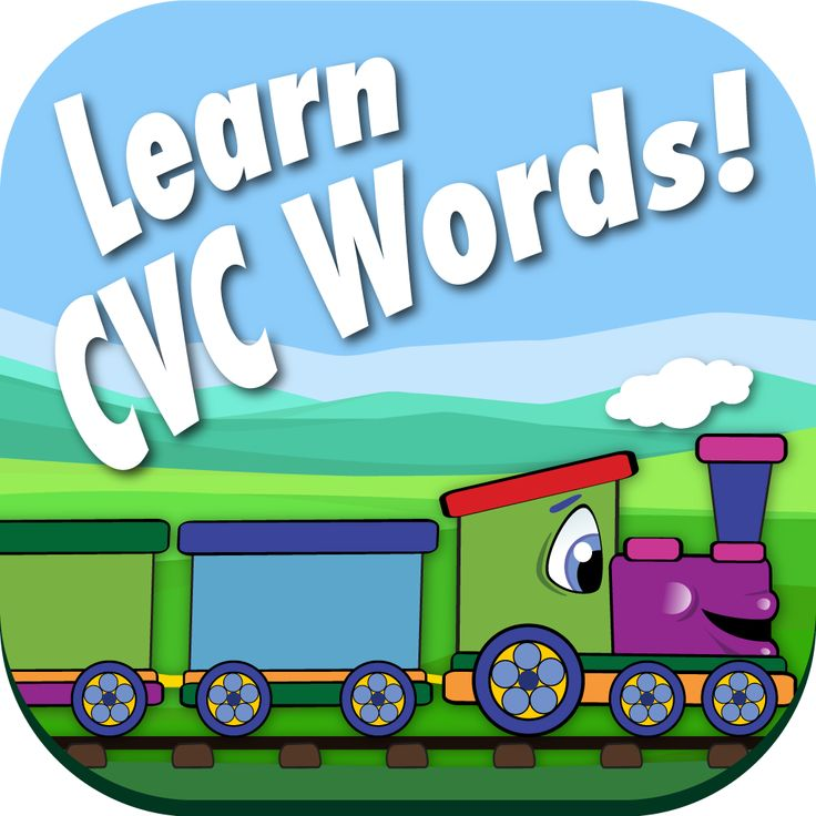 CVC Word Sort is a timed game that was designed to improve how quickly your child can recognize and sort CVC (Consonant-Vowel-Consonant) words. It does this by showing your child an image and ask them to pick the train car with the matching CVC word. Each higher level gives them less time to fill the train. Don't worry, they can begin in practice mode without the timer, then, when they are ready, they can select play. Available for Android and IOS.