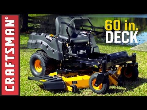 [vid_player   Take on the challenges of all types of lawns with the Craftsman Pro Series Zero Turn Riding Mowers. Cover ground in a fraction of the time with precision, …