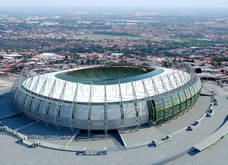 """Estádio Castelão"". Fortaleza, Ceará. Brasil."