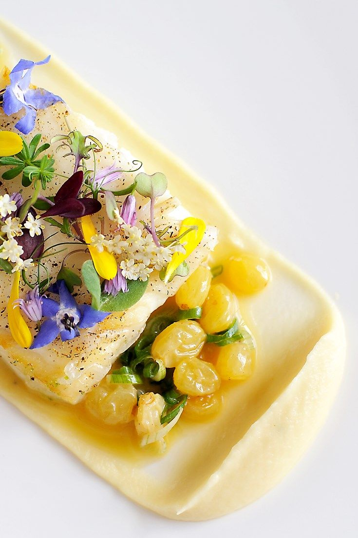 A selection of colourful recipes by chef Simon Hulstone.