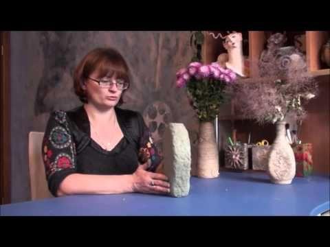 Делаем вазу из бутылки с помощью папье-маше - Ярмарка Мастеров - ручная работа, handmade