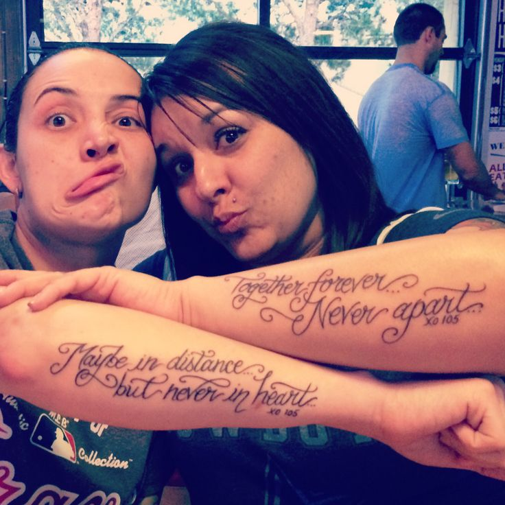 Love Tattoos For Couples Quotes 2: ️ Cute Matching Couples Tattoo