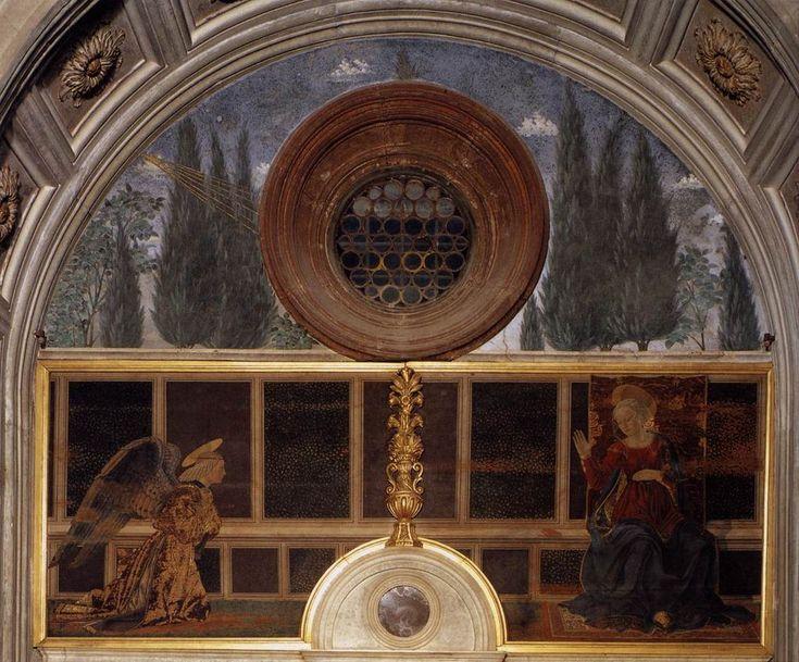 Alesso baldovinetti, annunciazione della cappella del portogallo - Category:Cappella del Cardinale del Portogallo - Wikimedia Commons