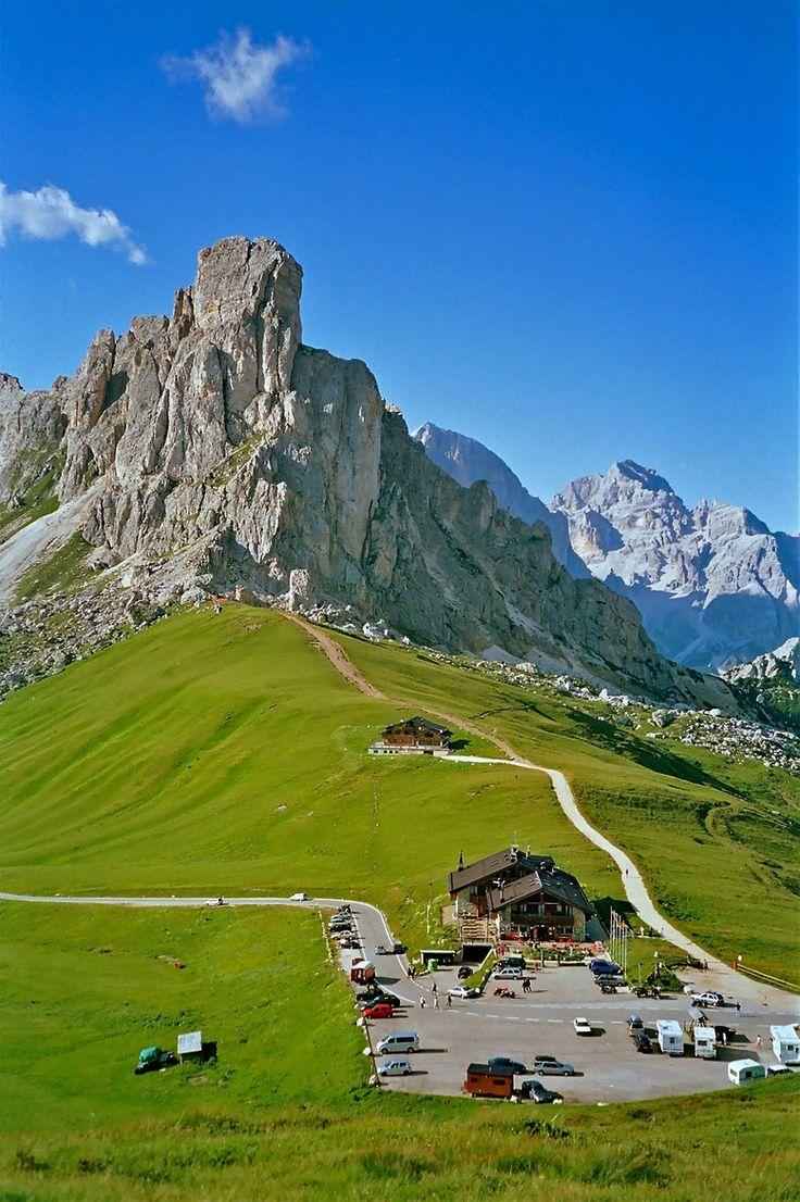 Passo di Giau (Belluno), Dolomites, Veneto, Italy