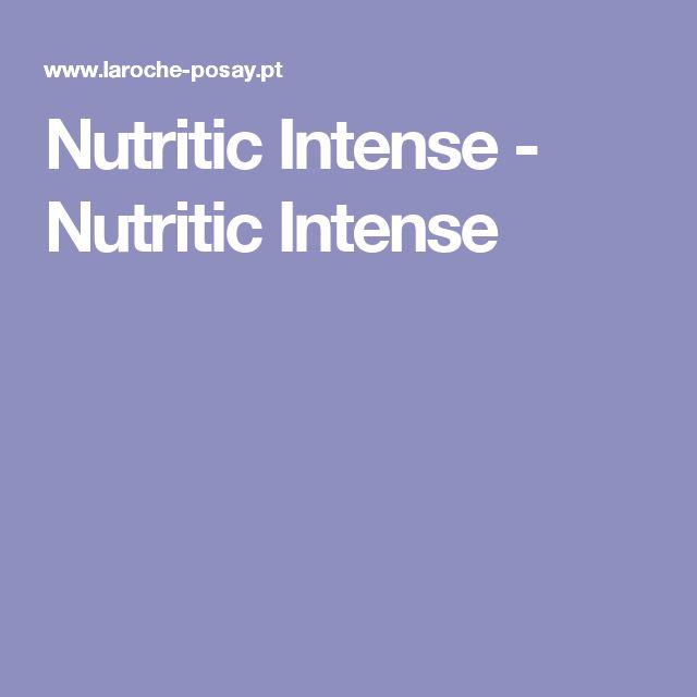 Nutritic Intense -  Nutritic Intense