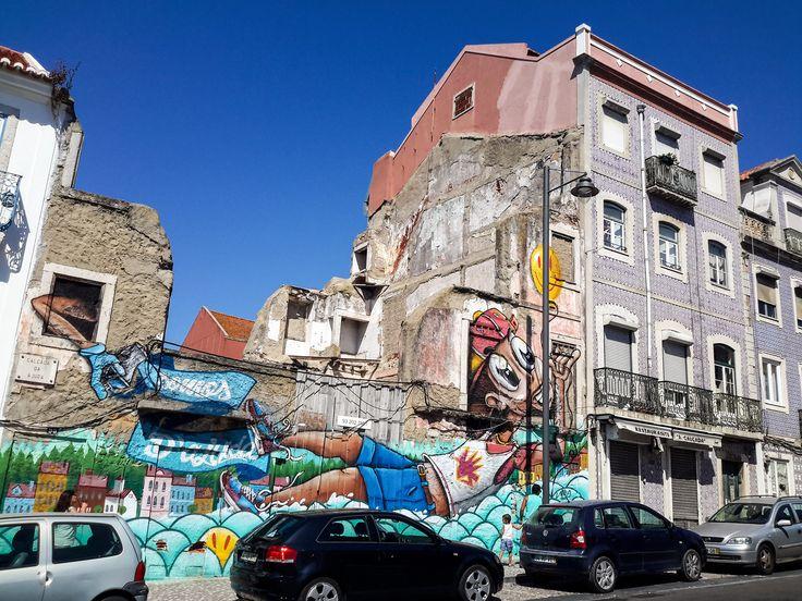 Lisbon Street Graffiti