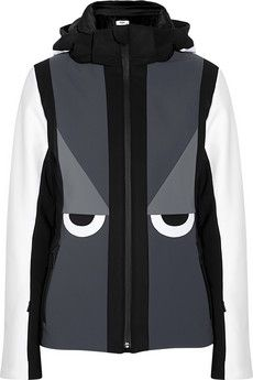 Now like that, I do want to SKI!!! BRILLIANT!  Fendi Creatures hooded ski jacket | NET-A-PORTER