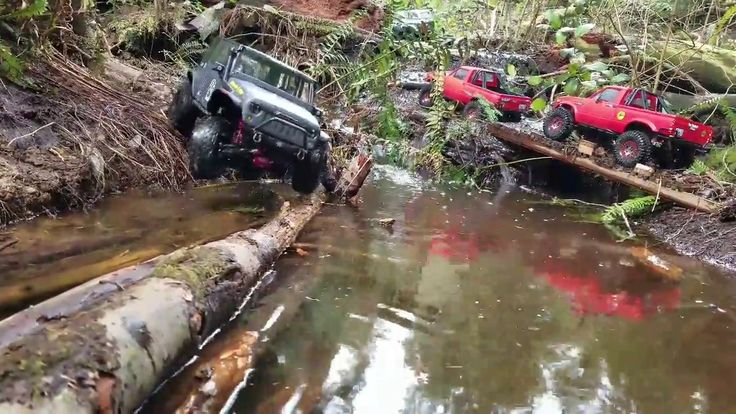 Jeep Founder / Rc4wd Marlin Crawler Group Trailing.