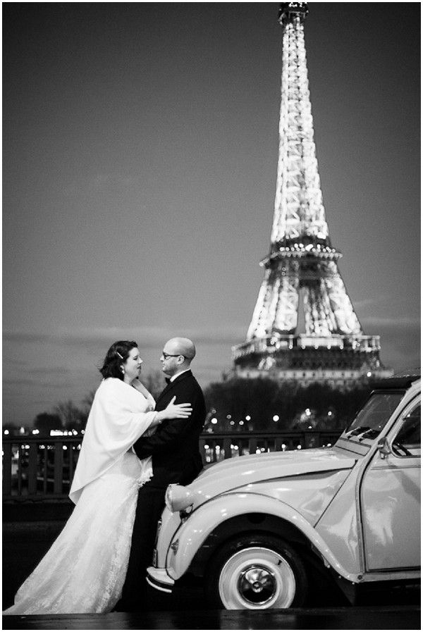vow renewal in Paris  | © Catherine O'Hara Photography via French Wedding Style