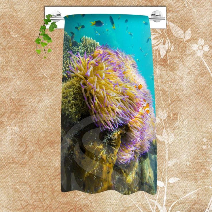 Personalized Custom Big Size 140cmx70cm Cotton Bath Great Barrier Reef#2 Shower Towel For your family SQ00806-@H0432