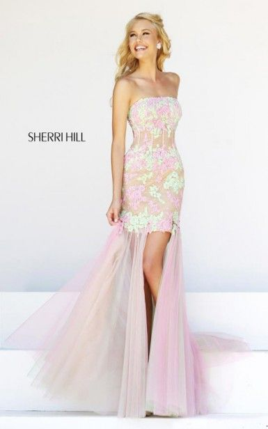 51 best Sherri Hill prom dresses 2014 images on Pinterest | Party ...