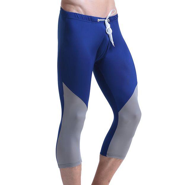2017 New Mens Shorts Casual Leisure  Men Shorts Tights Slim fit Patchwork Bermuda Masculina Male Short Pants