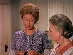 Ellen Corby and Michael Learned in The Waltons (1971)