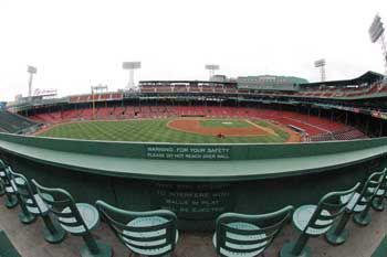 Green Monster seats at Fenway