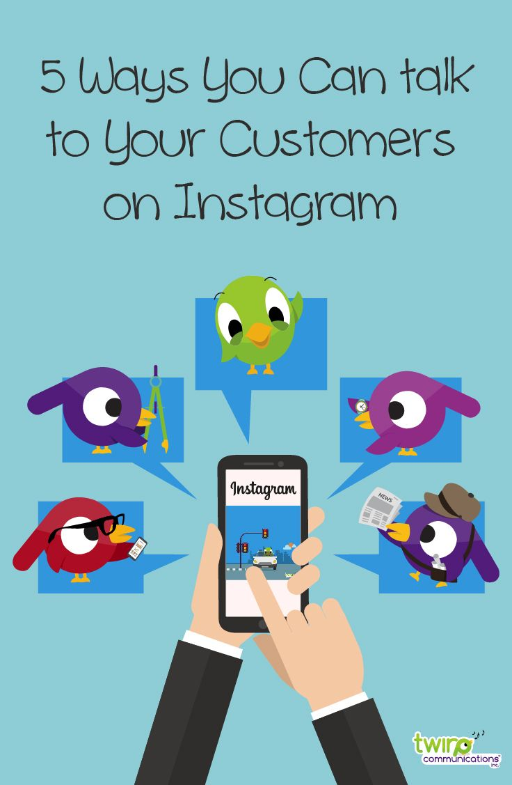 5 Ways You Can Talk to Customers on Instagram