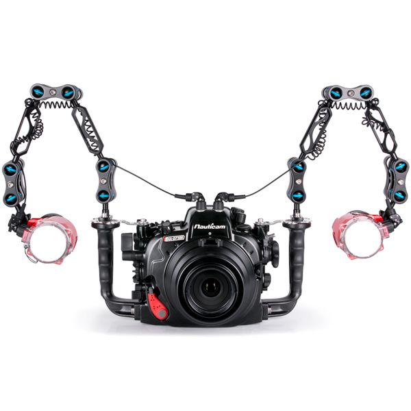 Nauticam NA-D7200 and Dual Inon S-2000 Strobe Package