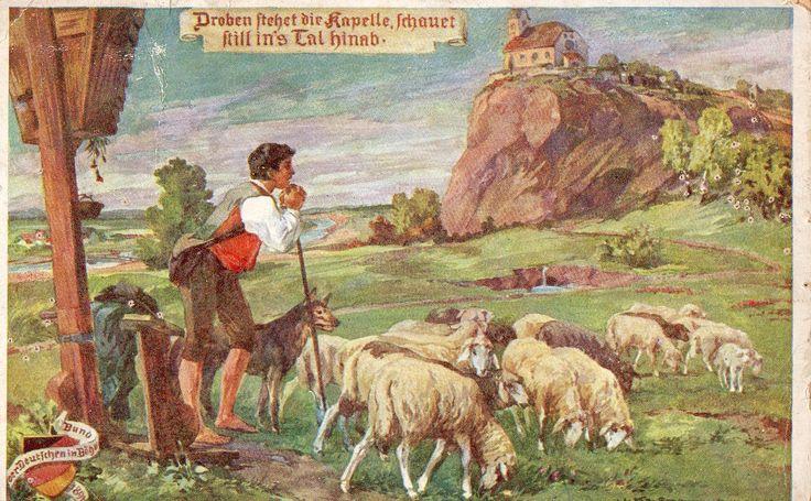 Postcard issued by 'Bund der Deutschen in Böhmen' 1916