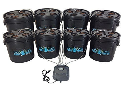 32 Site Hydroponic Dwc Bucket System – Complete Grow Kit 400 x 300