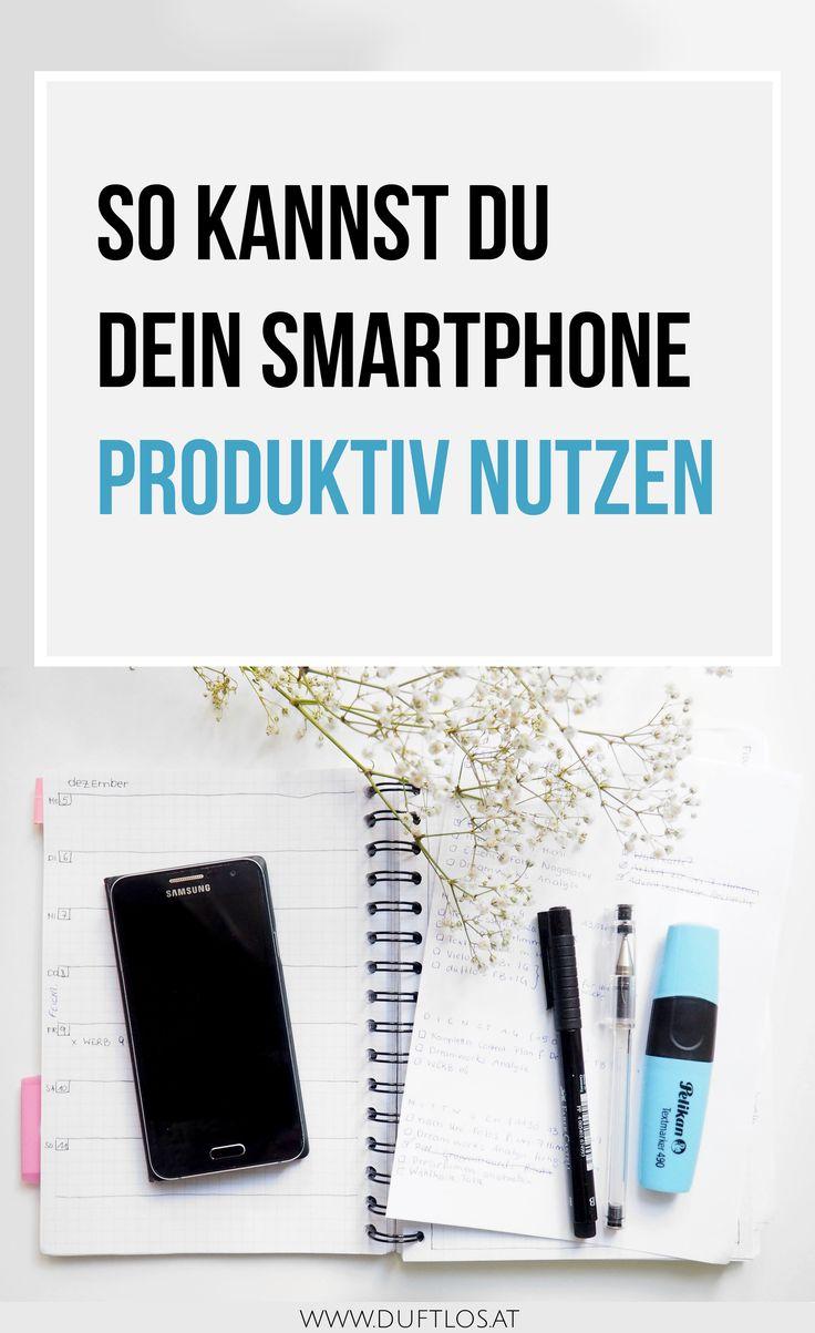 So kannst auch du dein Smartphone Produktiv nutzen. Tipps, wie man sich mit seinem Smartphone besser organisieren kann und produktiver sein kann.