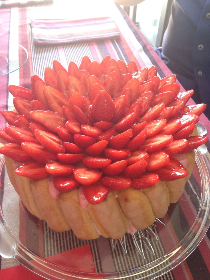 Charlotte aux fraise !