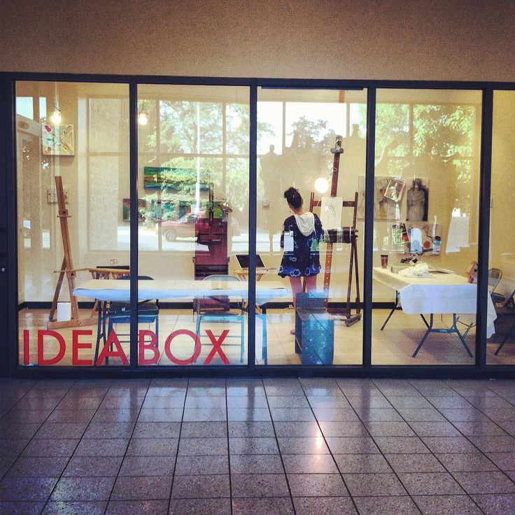 The Idea Box at the Oak Park Public Library is the epitome of a blank-slate make…