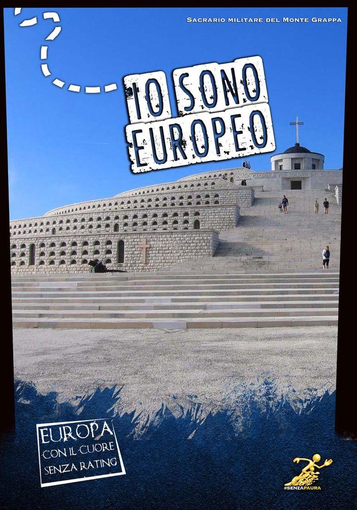 Io sono Europeo - Mostra ad Atreju 2012 - Monte Grappa