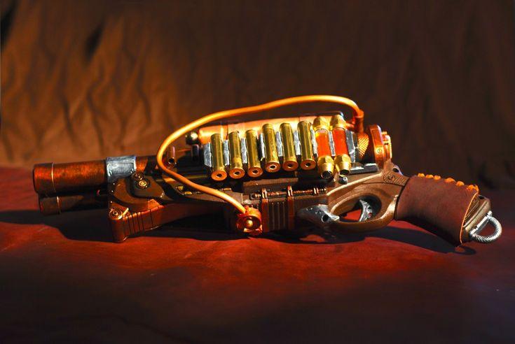 Steampunk Nerf Barrel Break Shotgun ~ by Shut Up Nerds