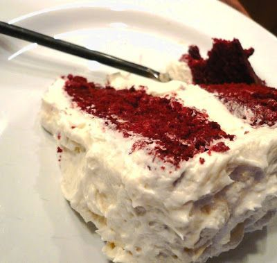 THIS is THE Red Velvet cake- the Waldorf Astoria cake! The be all end all...made with cooked flour frosting! Throw away any other wannabe recipes. You won't ever go back