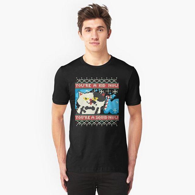 Staying #cool or #hot this winter? Maybe #stayfresh! You choose! Get it here http://rdbl.Co/1MuMe1r or follow link in Bio!  #Nintendo #splatoon #videogames #inkopolis #games #nerd #geek #cute #gift #Tshirt #print