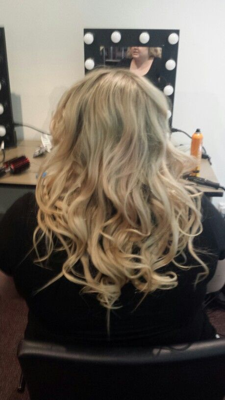 Session 5 Curls with Straightening Iron