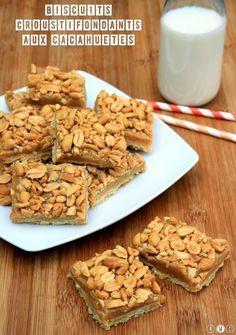 Des biscuits à la fois croustillants de part leur base croquante et les cacahuètes concassées par-dessus, et à la fois fondants grâce à la couche crémeuse à base de...