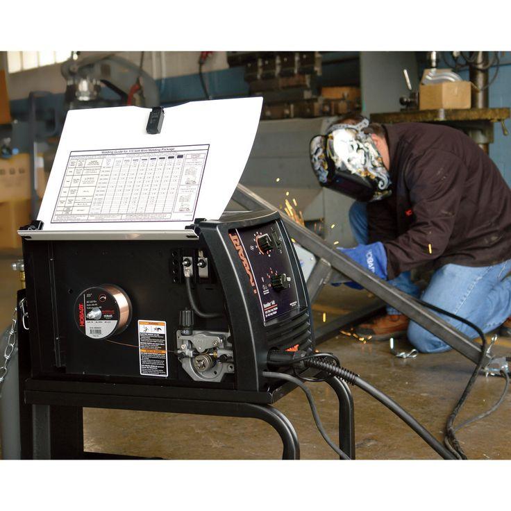 Hobart handler 140 flux core mig welder 115v 140 amp for Lincoln welder wire feed motor