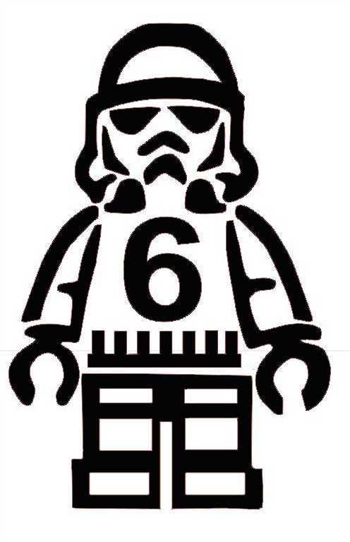 lego stormtrooper birthday shirt pattern