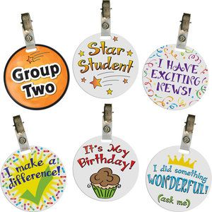 Clip-On Puffy Special-Occasion Tags