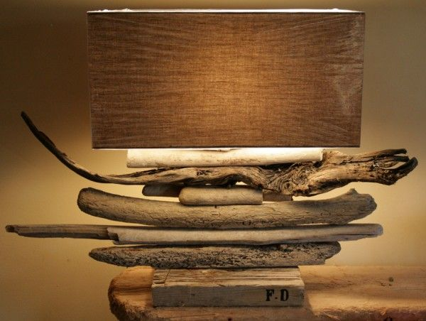 Driftwood decoration: Driftwood Lamps, Driftwood, Fd Bois, Decoration, Driftwood Art, Driftwood Crafts, Driftwood Decor, Beaches Houses, Drift Wood