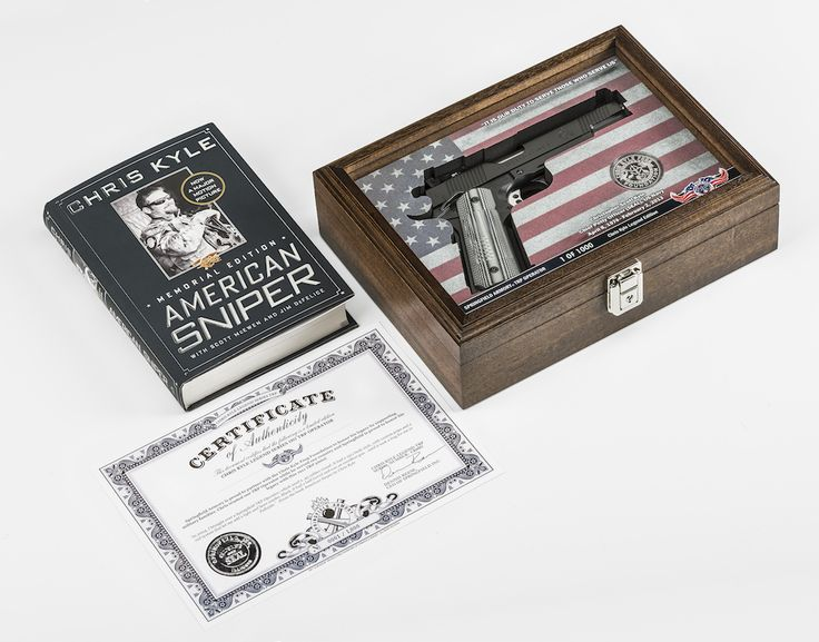 Springfield Armory to Auction First Chris Kyle TRP Pistol