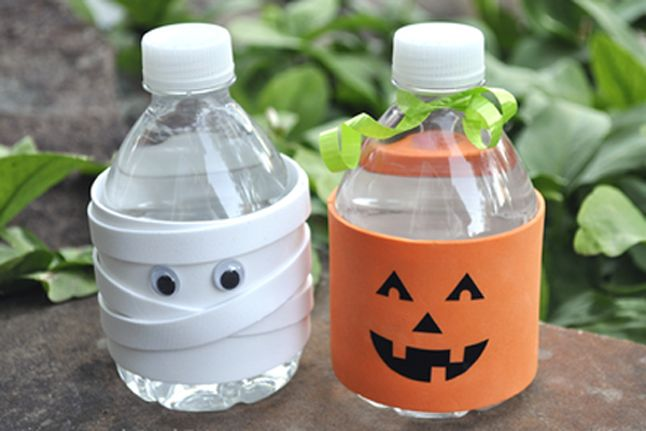 Bedtime water doesn't have to be boring. Craft these delightful water cozies with your kids and settle in for a good book. #spellawitcherella #healthyliving