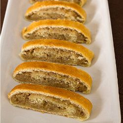 Nut Roll Recipe   Christmas Recipes   Brown Eyed Baker this has the right amount of sour cream as my own recipe had.