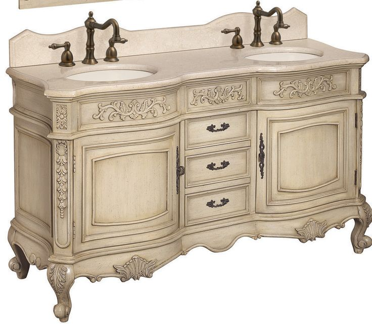 vanity in antique parchment with marble vanity top in cream at the home depot mobile