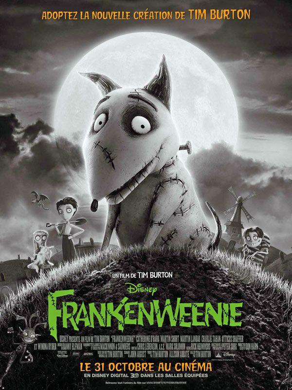 27 octobre : Frankenweenie de Tim Burton (2012)
