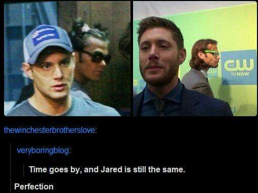 Jared photobombs are the best ❤