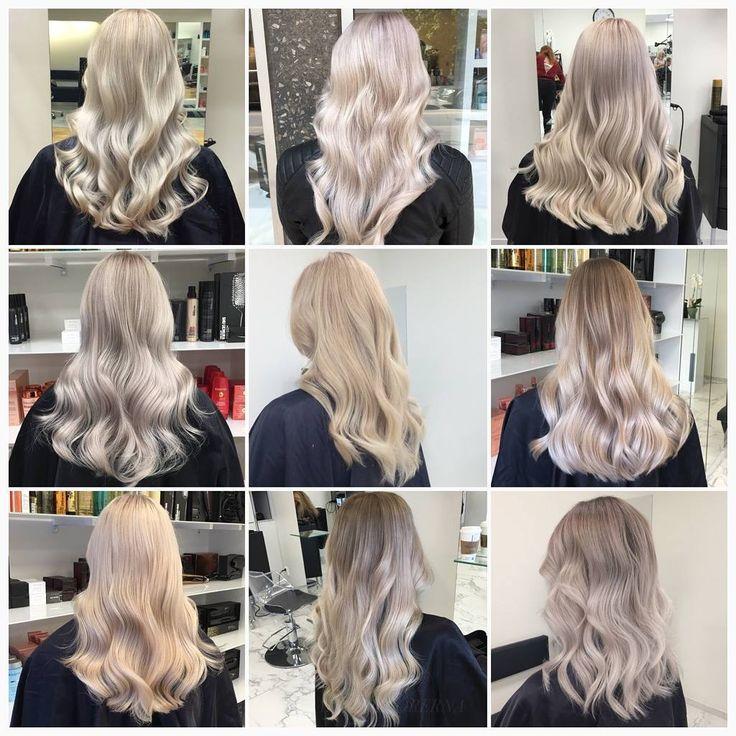 Blonda hår går att variera i all oändlighet, vi älskar att jobba med olika nyanser och med olika tekniker! 👌 Har du någon favorit? 💎 #silverhair #platinumblonde #goldblonde #lorealproffessionel
