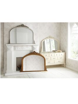 HOME COLLECTION Marseille Over Mantle Mirror