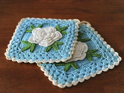 Beautifil crochet square