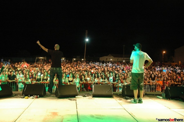 Professional sinnerz & Komis-X at Ireon Music Festival Samos Island 2011