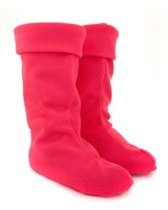 Pink Welly Warmers for Women: Medium Size 5-7 FREE P